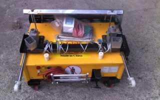 Штукатурная машина для ремонта и капитального строительства[Штукатурка