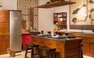 Оформление современной кухни в китайском стиле (выбор цветовой гаммы)