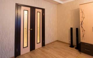 Как правильно установить двухстворчатую межкомнатную дверь?