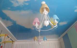 Обои на потолок облака: интересные идеи для красивого оформления (+38 фото)