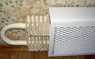 Короб для батарей отопления