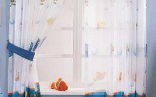 Шторы для детской в морском стиле – оформление своими руками