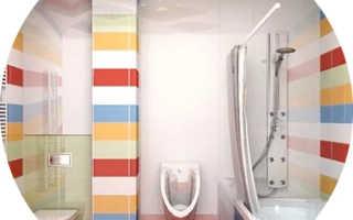 Интерьер ванной комнаты и туалета — 60 фото