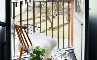 Дизайн маленького балкона в квартире: интерьерные решения (35 фото)