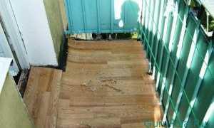 Чем покрыть пол на балконе?