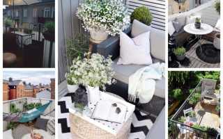 Оформление открытого балкона — создание уютного пространства для отдыха