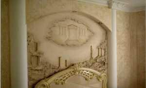 Создание барельефа в интерьере своими руками