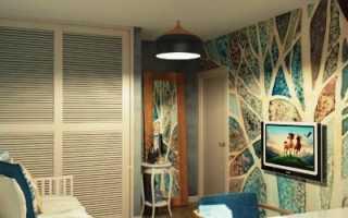 Обои абстракция для стен: варианты для интерьера