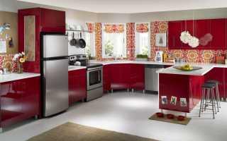 Современные и практичные идеи дизайна стен на кухне (+45 фото)