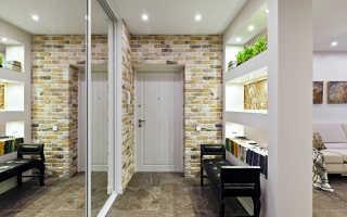 Потолок из гипсокартона в прихожей и коридоре — фото различных вариантов