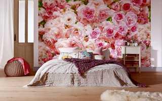 Фотообои для спальни: как создать идеальную стену (41 фото)