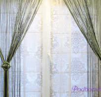 Верёвочные шторы своими руками: изготовление