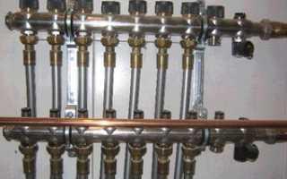 Коллекторная разводка труб водоснабжения в квартире своими руками
