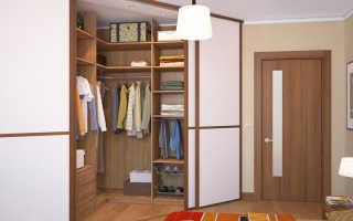 Угловая гардеробная: виды, особенности выбора и дизайн-проекты
