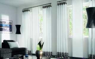 Как самому сшить шторы для гостиной?