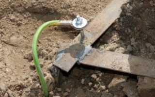 Как сделать заземление для газового котла в частном доме — Точка J