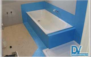 Гидроизоляция ванной комнаты — виды и способы нанесения