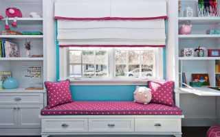 Оформление окна в детской комнате: советы по созданию уютной атмосферы (+39 фото)