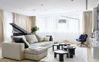 Шторы в гостиную на два окна – изумительный вид вашей комнаты