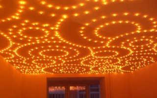 ЛАМПОЧКИ ДЛЯ НАТЯЖНЫХ ПОТОЛКОВ: их выбор, требования к ним, особенности разных видов ламп