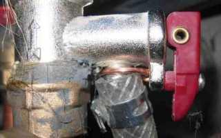 Предохранительный клапан для водонагревателя * ABuildic