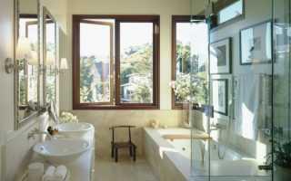 Дизайн ванной с окном – впустите свет в свой интерьер