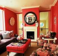 Роскошный красный цвет и его оттенки в интерьере (40 фото)