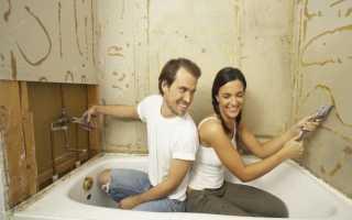 Как и чем выровнять стены в ванной комнате под укладку плитки
