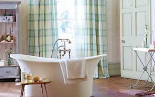 Элитные шторы для ванны: тканевые, текстильные— превосходное решение