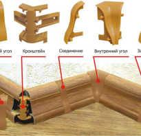 Как выполнить укладку плинтуса на ламинат