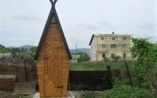Чертежи дачного деревянного туалета теремок для строительства своими руками: фото проектов с размерами