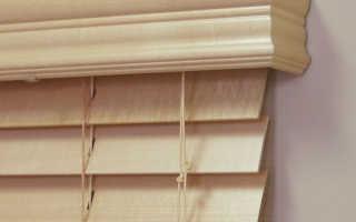 Деревянные жалюзи своими руками – оригинально украшение интерьера