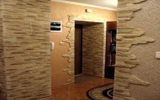 Отделка искусственным камнем в квартире — Только ремонт своими руками в квартире: фото, видео, инструкции