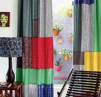 Сшить шторы из остатков ткани своими руками