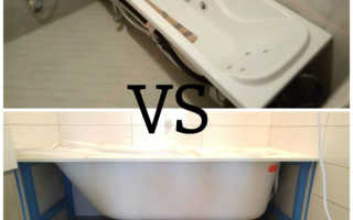 Установка ванны после укладки плитки — Ремонт квартир