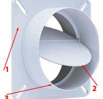 Вентиляционная решетка с обратным клапаном