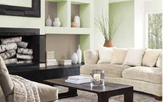 Фисташковый цвет в интерьере: как смешать краски для стен (30 фото)