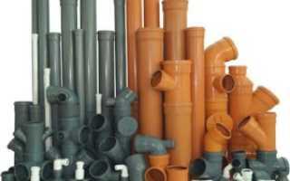 Размеры пластиковых труб для водопровода таблица — Канализация