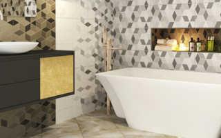 Как выбрать плитку в ванную комнату и не ошибиться?