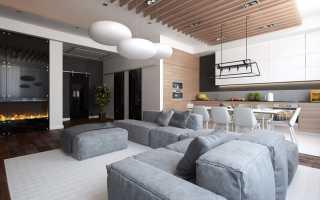 Камин в интерьере гостиной: 5 современных вариантов (фото)