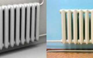 Виды батарей отопления в квартире — Всё об отоплении и кондиционировании