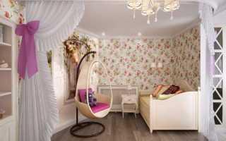 Стиль прованс в интерьере детской комнаты: характерные черты французского стиля