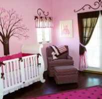 Комната для новорожденной девочки: фото-идеи