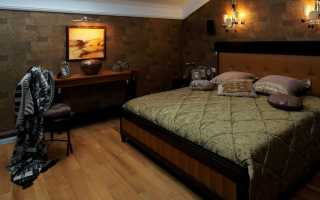 Дизайн маленькой темной спальни: правила оформления комнаты