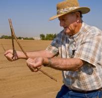 Как найти воду на участке для скважины: различные способы поиска