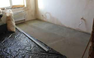 Гидроизоляция пола в квартире перед стяжкой — iZOLER