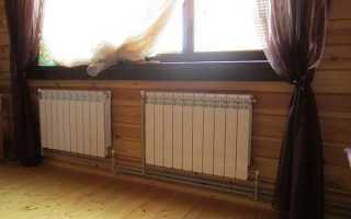 Замена радиаторов отопления своими руками, схема и видео подключения