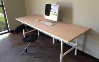Как сделать компьютерный стол для дома своими руками
