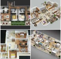 Проект 3-комнатной квартиры