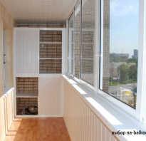 Фото пластиковых балконов